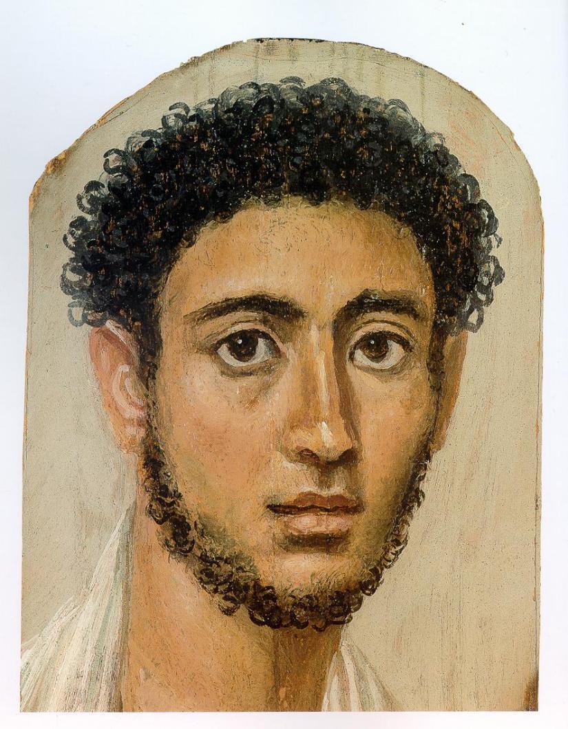 'Tính Đương đại trong các tranh chân dung xác ướp Fayum' bởi JohnBerger